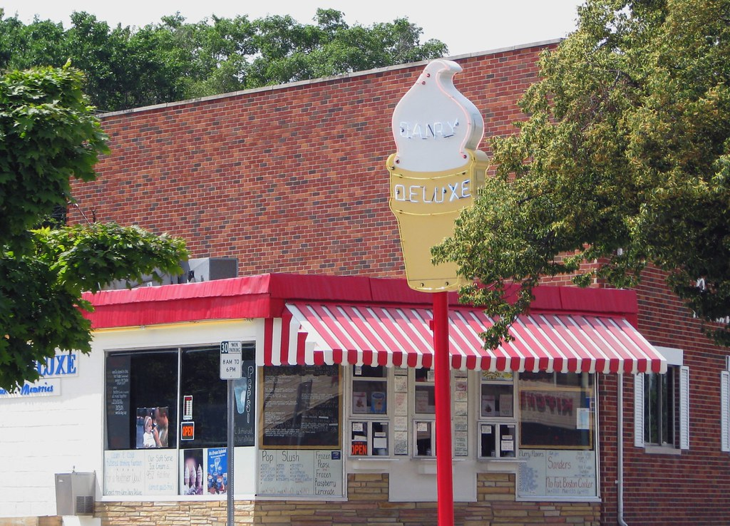 Dairy Deluxe Birmingham Mich Woodward Avenue Somewhere Flickr