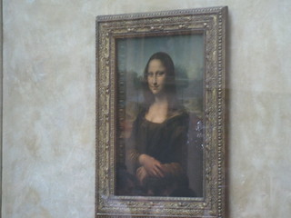 Mona Lisa - showing marks of attack on August 2, 2009 | by Martin Tod