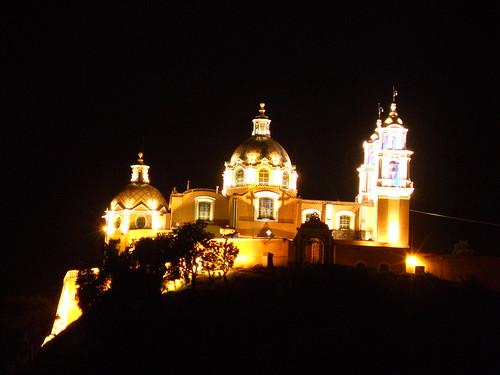 P9220082 Recorrido Nocturno Iglesia de los Remedios Cholula., Puebla por LAE Manuel Vela
