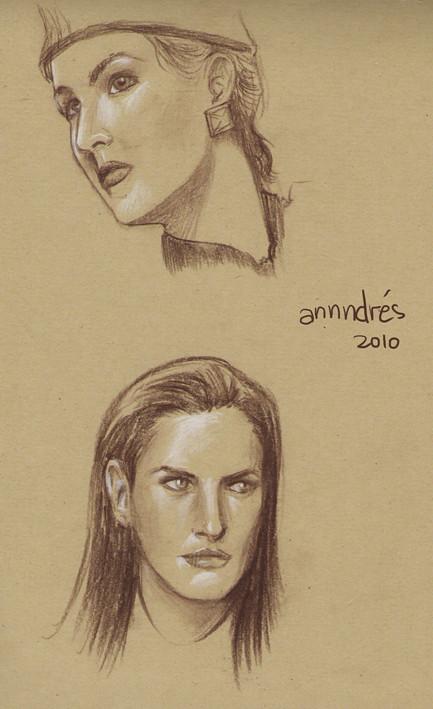 Dibujo De Rostros De Mujeres Dibujos De Rostros De Mujeres Flickr