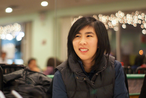 04487 Sam Woo - Chris enjoys the holiday lights   by geekstinkbreath