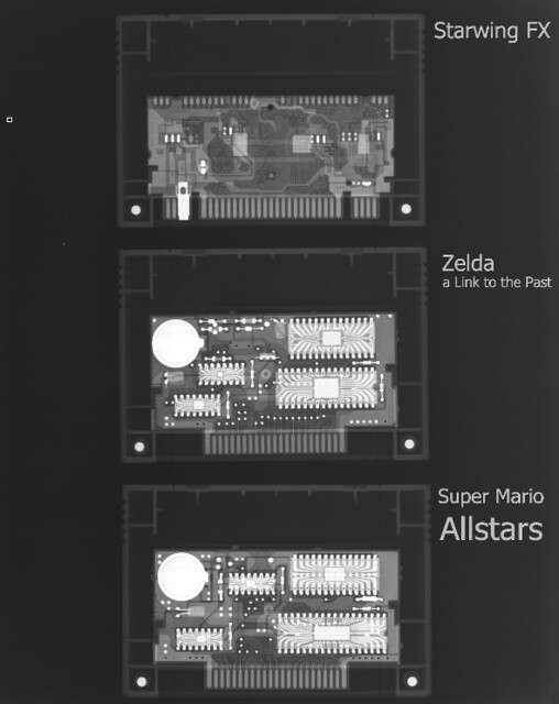SNES Roms   X-Ray of SNES Cartridges   Reintji   Flickr