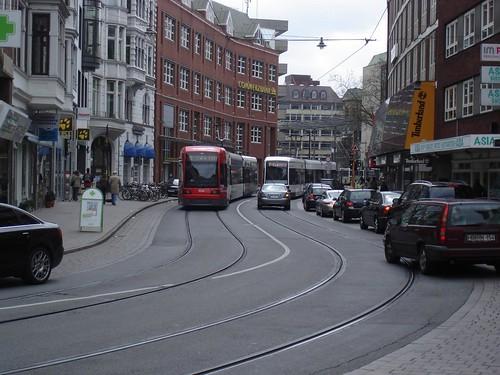 Straßenbahn Bremen   by kaffeeeinstein