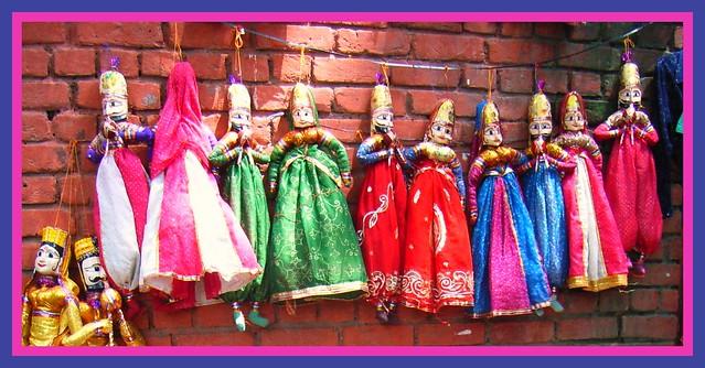 Katputlis - Rajasthan Puppets