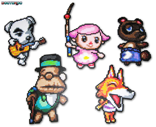Animal Crossing Bead Sprites Five Custom Animal Crossing B