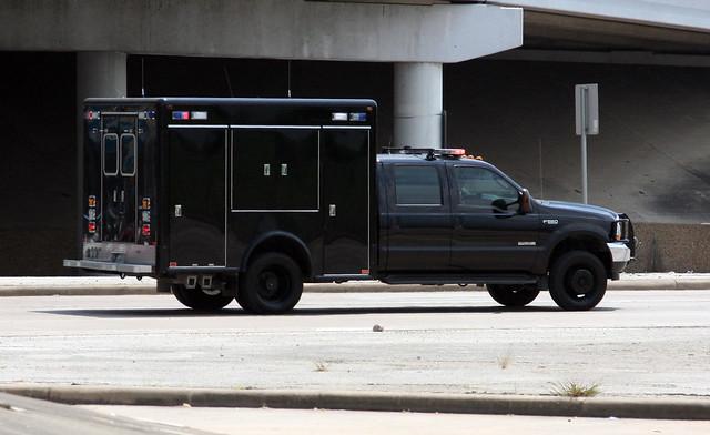 U.S. Secret Service Presidential Detail Hazardous Materials Mitigation Unit - Ford F550/Horton