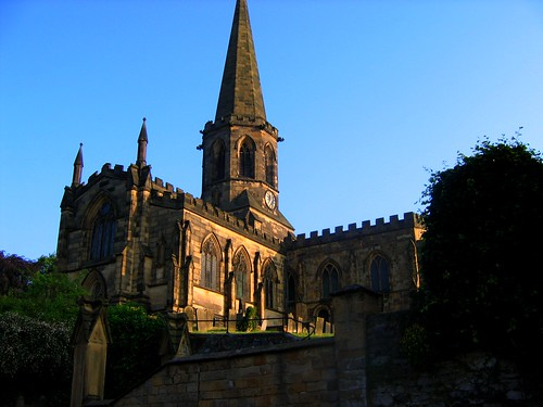 All Saints Church, Bakewell, Derbyshire. by UGArdener