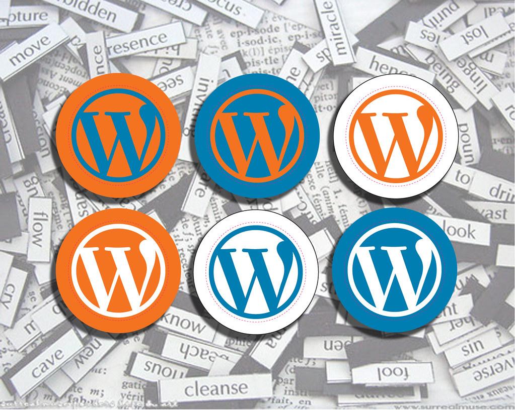 WordPress Stickers Everywhere - by StickerGiant WordPress Stickers Everywhere - by StickerGiant