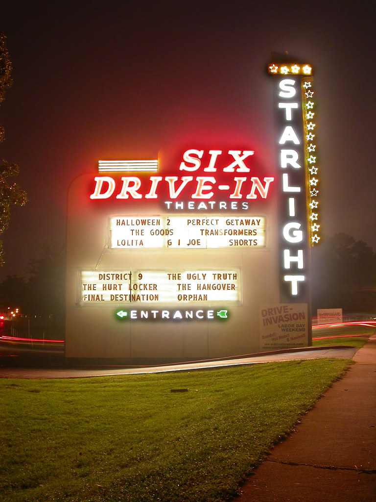 Starlight Drive In Southeast Atlanta Ga Went To See Sta Flickr