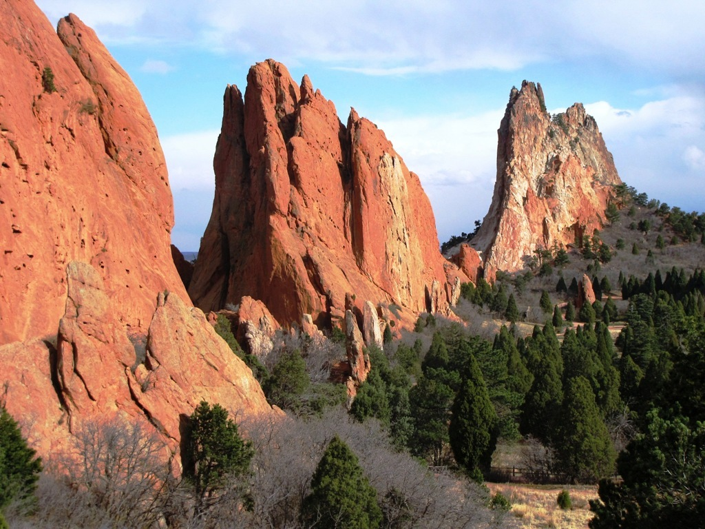 Three Towers Garden Of The Gods Colorado Geology Flickr