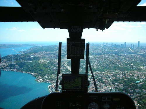 Istanbul from helicopter | by myguideinturkey
