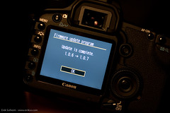 Canon 5D Mark II Firmware Update from 1.0.6 to 1.0.7 | by eirikso