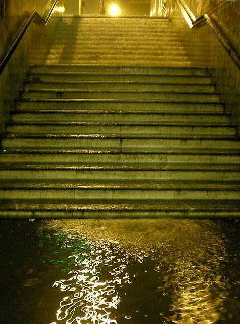Steps, or waterfall