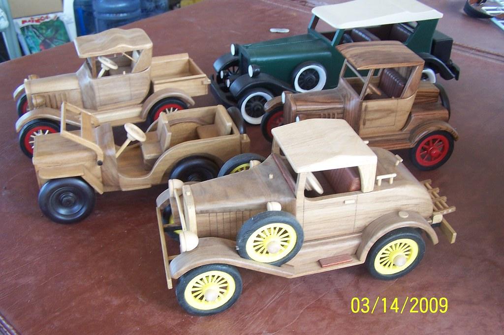 5 Homemade Wooden Cars Joy Kempf Flickr