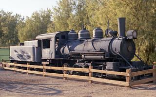 Death Valley railroad train 1991 | by exfordy