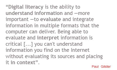 Digital literacy (definition)