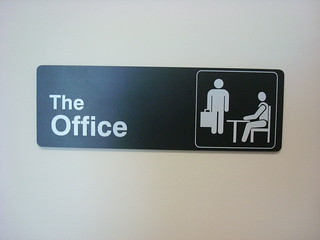 """My office is """"the"""" office"""