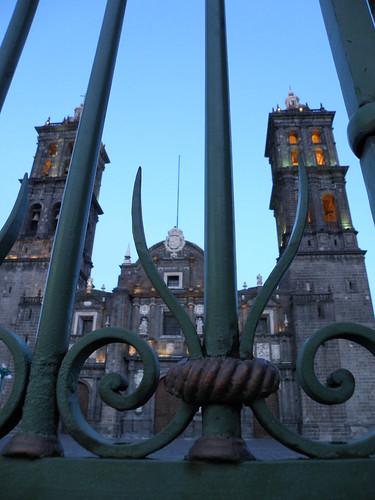 P8100014 Catedral de la Ciudad de Puebla., Puebla por LAE Manuel Vela