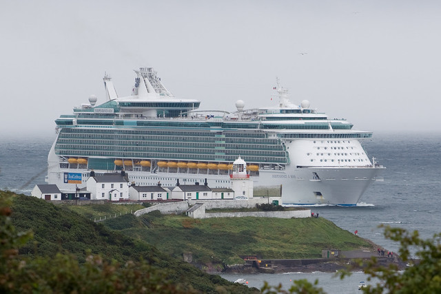 Independence of the Seas passing Roches Point
