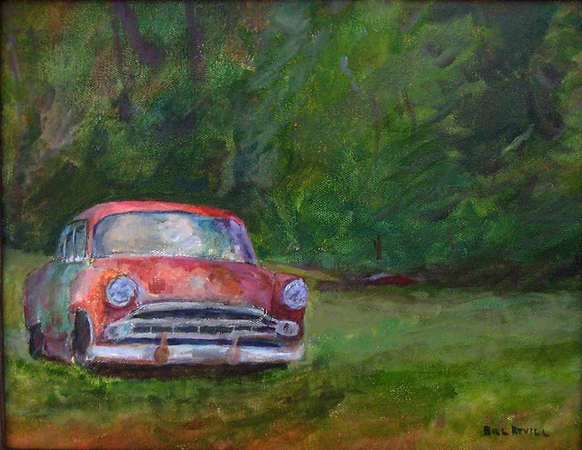 End of the Road - painting (now sold - the painting, that is)