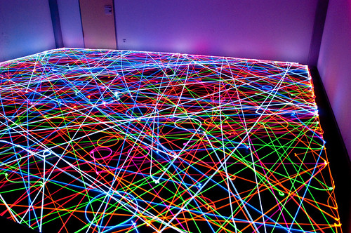 IBR Roomba Swarm in the Dark IV | by IBRoomba