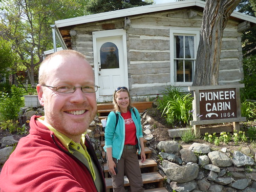 Helena - pioneer cabin
