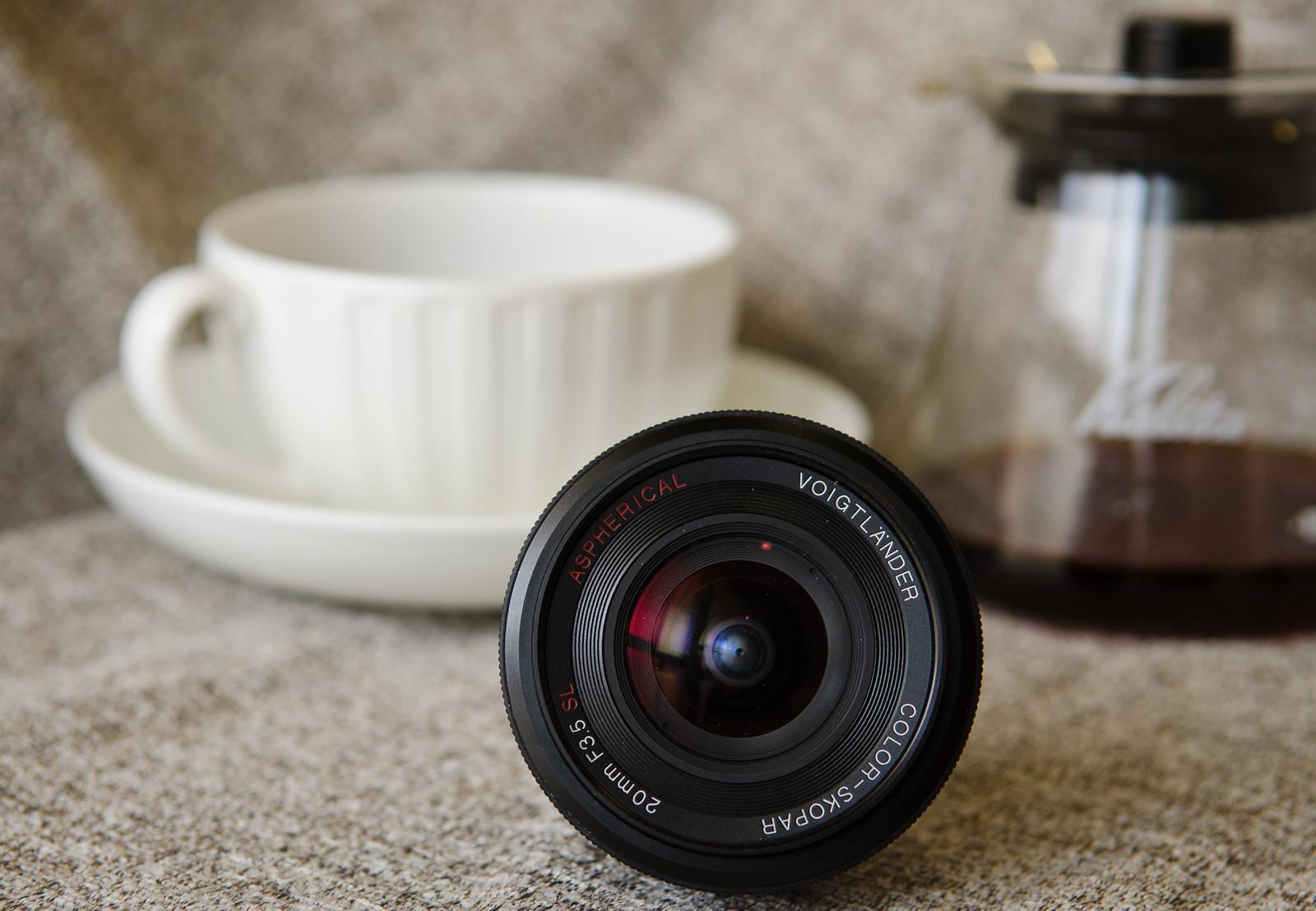 Voigtlander Lens + Coffee