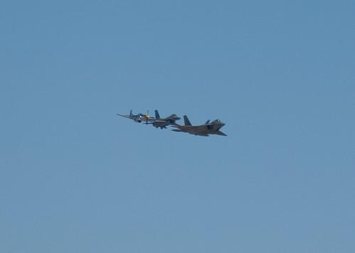 USAF Heritage Flight 2   by cetaylor