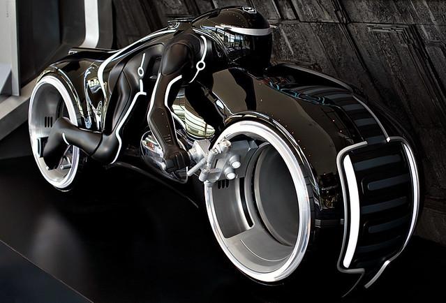 Tron Legacy Black Light Cycle