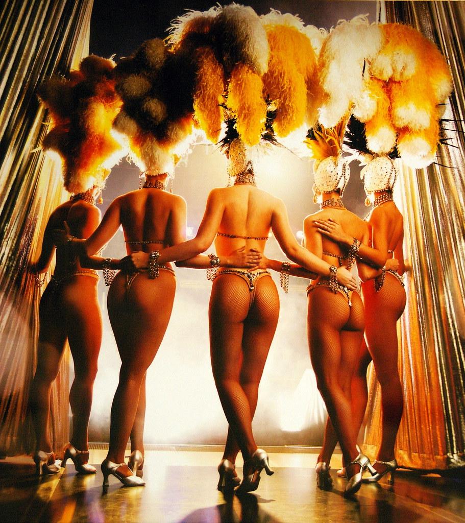 Vegas showgirls nude