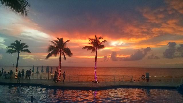 Sunset at Cozumel, Mexico (Explored)