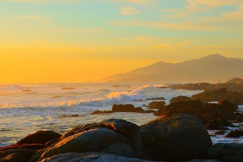 chile sunset sea sky mountain atardecer photography mar photo nikon photographer cielo olas maitencillo nikonistas
