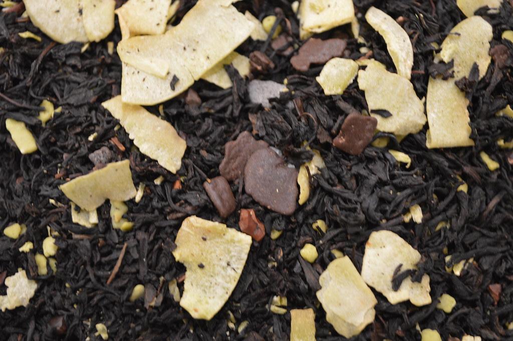 Csokoládés-marcipános tea