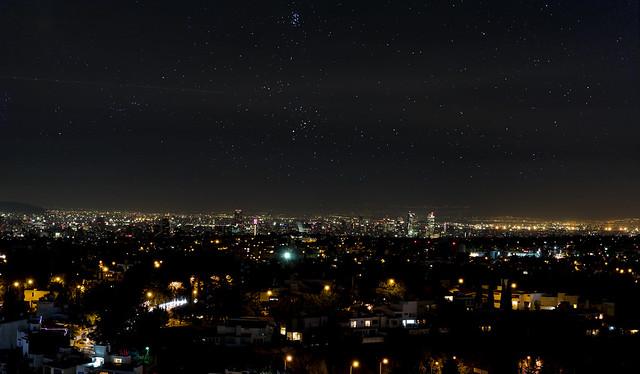 Skyline mexico city
