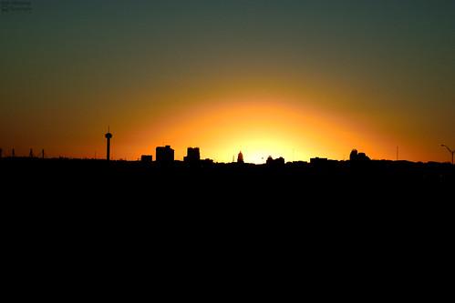 sanantonio texas clearskies sunset skyline downtown nikon d5300 2017 55300mmlens
