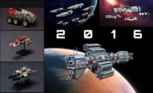 2016 Lego Builds
