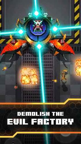 Evil Factory finalmente disponibile per Android e iOS! Retrogame in pixel art al top!!!!