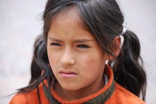 Peruvian child   by Ivan Mlinaric