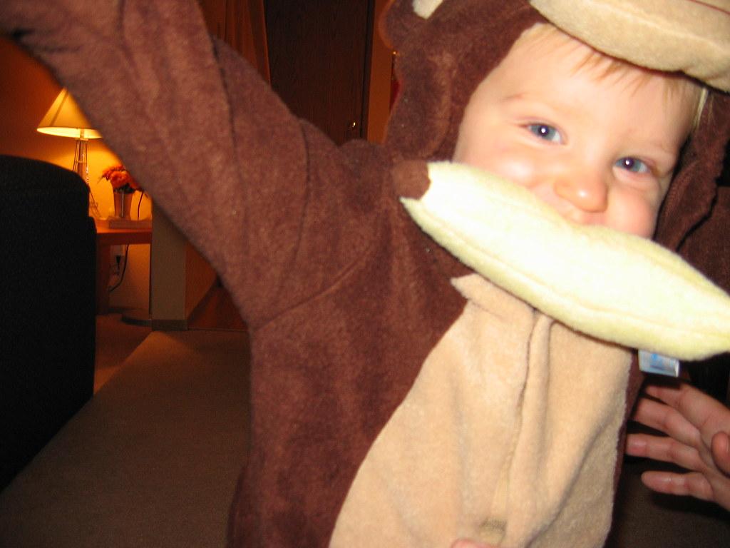 Oskar's Monkey Costume