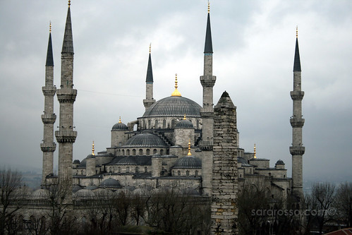 View from our hotel of the Blue Mosque, Istanbul, Turkey | by MsAdventuresinItaly