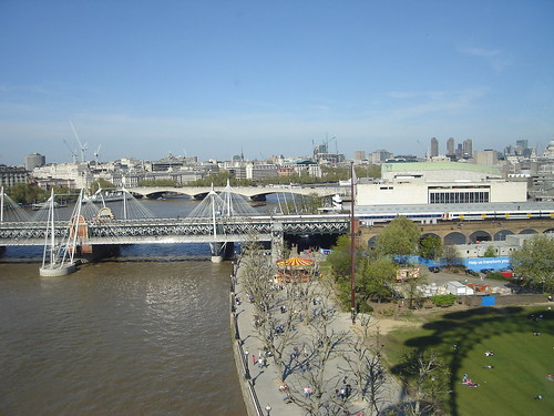 River Thames from London Eye | by kevgibbo