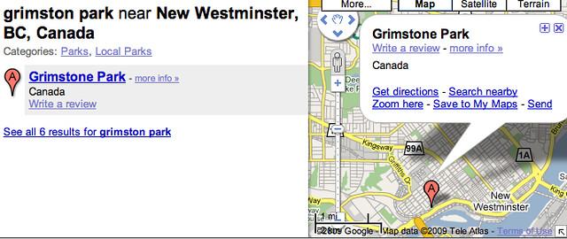 """Mislabled """"Grimstone Park"""""""