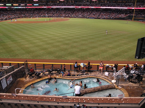 Chase Field Swimming Pool | by Ryan Leighty
