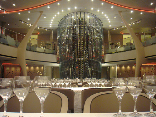 Celebrity Solstice. Restaurant. Grand Epernay. Adam Tihany.   by Tom Mascardo 1
