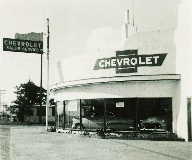 Culwell Chevrolet Gilroy Ca 1953 Last I Knew The Buildin Flickr
