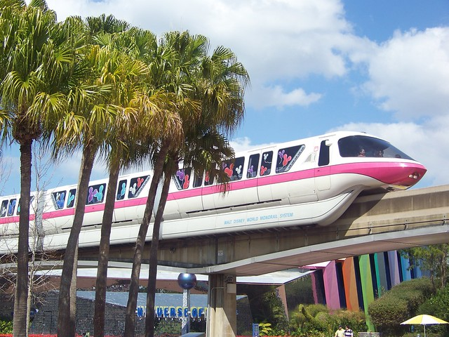 Epcot - Walt Disney World Monorail