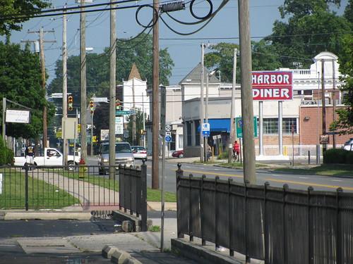 sign newjersey downtown diner atlanticcounty us30 eggharborcity whitehorsepike