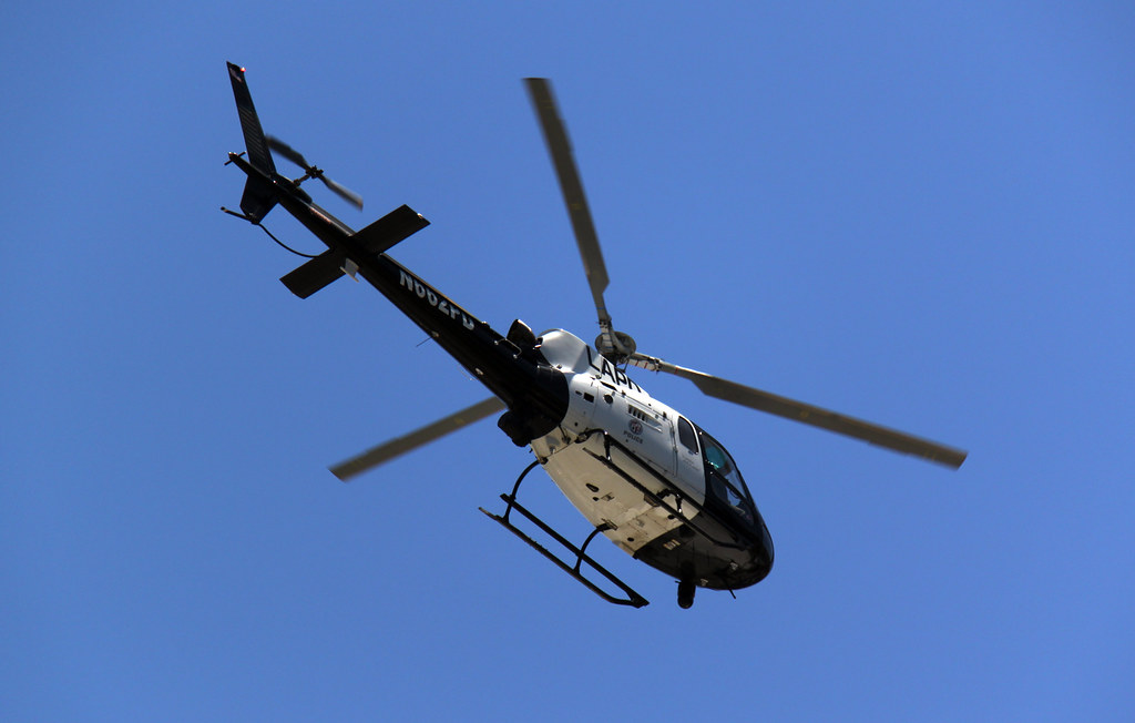 LAPD Helicopter | One of Los Angeles Police Department helic
