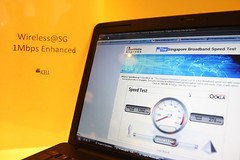 Speed boost for Wireless@SG   by IDA Singapore