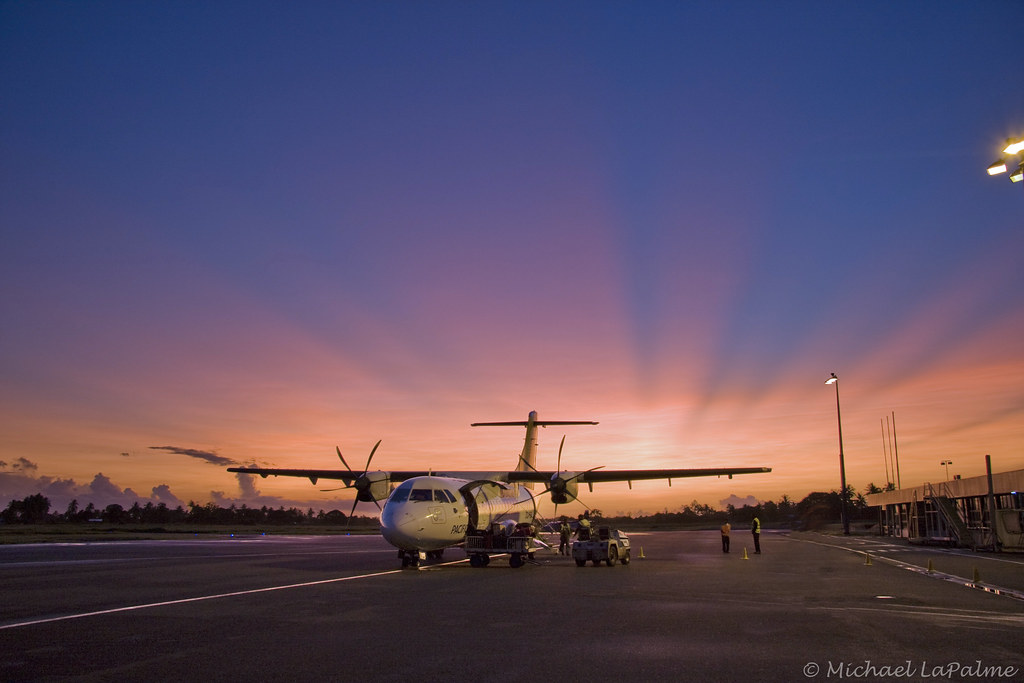 Nausori Airport, Suva - Fiji | Nausori Airport at dawn - Suv